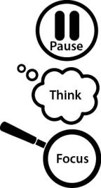 pause and think