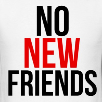 no new firends image